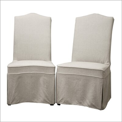 Wholesale Interiors Baxton Studio Coralie Parsons Chair (Set of 2)