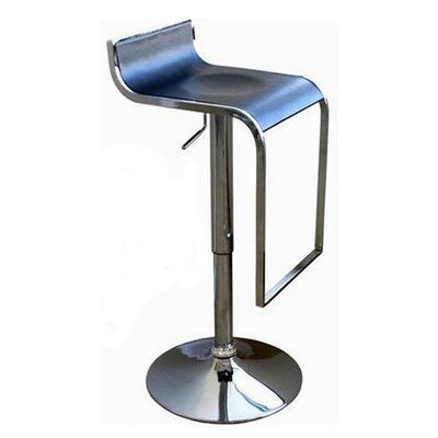 Wholesale Interiors Swivel Bar Stool - Low Back Adjustable Dromio