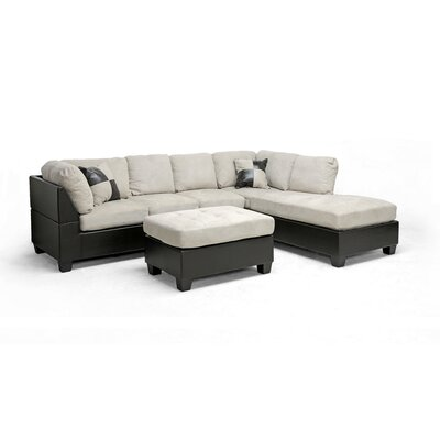 Baxton Studio Mancini Right Sectional