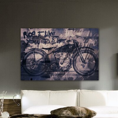 Oliver Gal ''Ride It'' Canvas Art Print