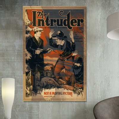Oliver Gal ''The Intruder'' Canvas Art Print