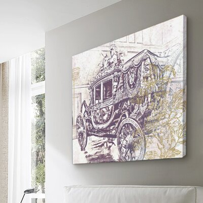 Oliver Gal Charles X Carriage Canvas Wall Art
