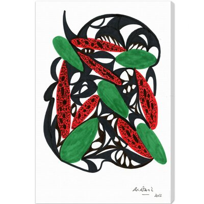 Oliver Gal Watermelon Still Life Canvas Art
