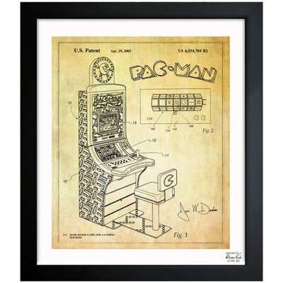 Oliver Gal Maze Based Game 2003 Framed Art