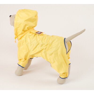 Rainforest Dog Coat in Yellow