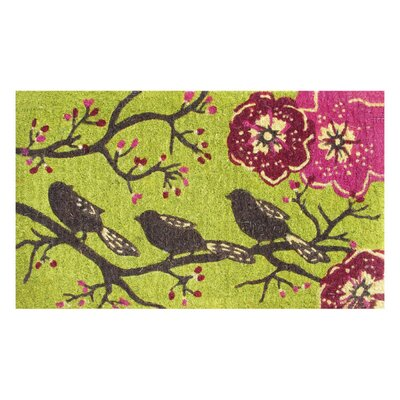 Three Little Birds Doormat