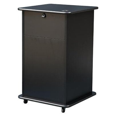 Sound Craft Educator Projector Cart in Black