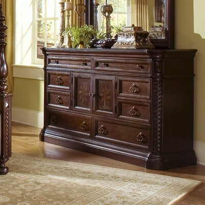 Progressive Furniture Inc. Marlestone 8 Drawer Dresser