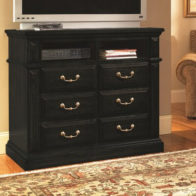 Torreon 6 Drawer Media Chest