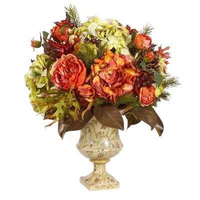 Jane Seymour Botanicals Autumn Dried Garden Urn