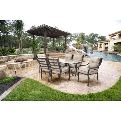 Lavallette 7 Piece Outdoor Dining Set