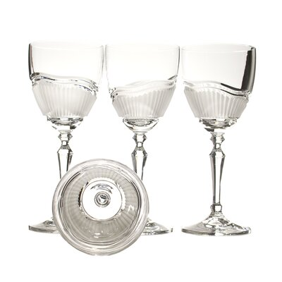 Morning Frost White Wine Crystal Glass (Set of 4)