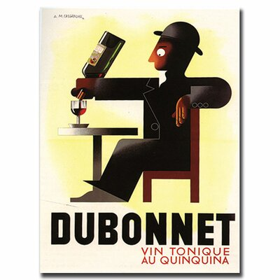 Dubonnet by AM Cassandre, Traditional Canvas Art - 24