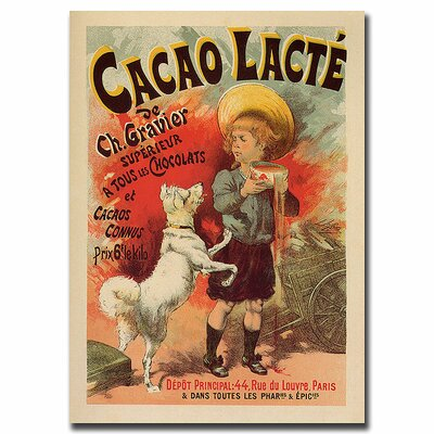 Cacao Lacte by Lucien Lefevre, Traditional Canvas Art - 32