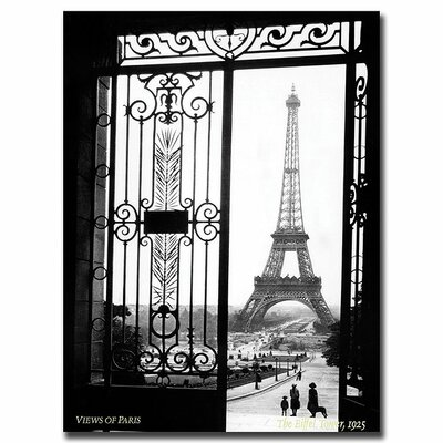 Views of Paris by Sally Gall, Traditional Canvas Art - 32