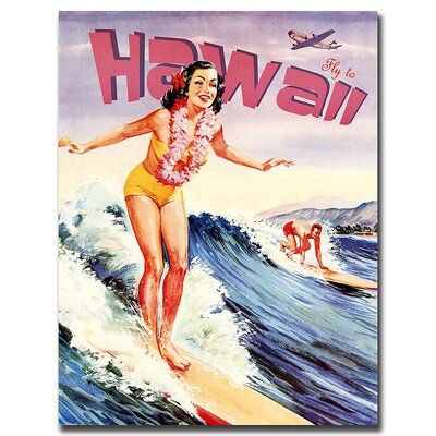 Hawaii, Traditional Canvas Art - 32