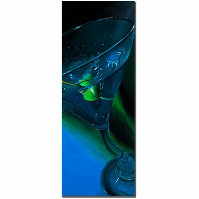 Trademark Art Bluetini by Roderick Stevens, Canvas Art - 32