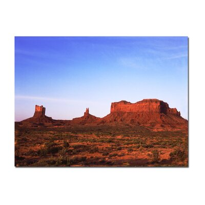 "Trademark Fine Art Monument Valley by Kurt Shaffer, Canvas Art - 24"" x 32"""