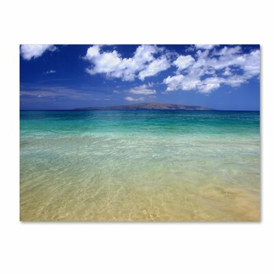 'Hawaii Blue Beach' Canvas Art