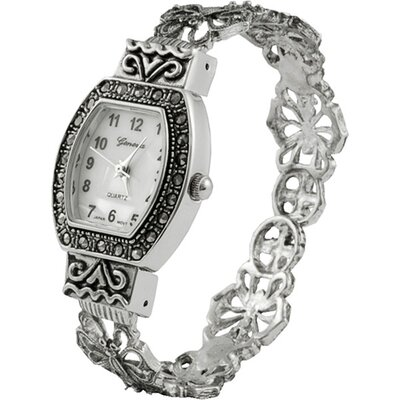 Women's Filigree Cuff Watch