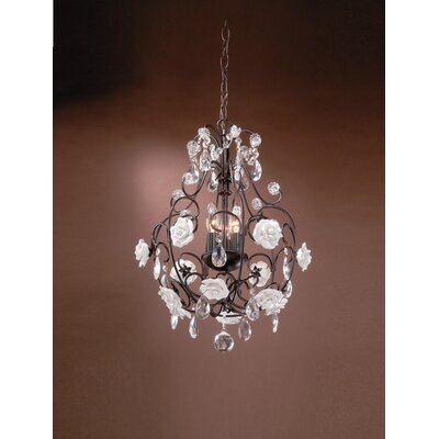 Laura Ashley Home Betsy 3 Light Pendant