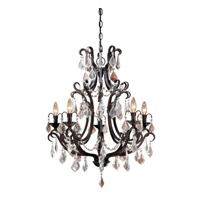 Laura Ashley Home Caroline 5 Light Chandelier