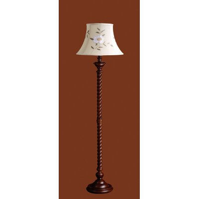 Laura Ashley Home Somerset Floor Lamp with Tia Shade