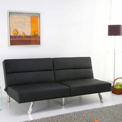 Techni Mobili Fitz 3-Position Convertible Futon Sofa