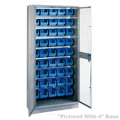 "Lyon Workspace Products All-Welded Visible Storage Cabinet with 45 Bins: 72"" H x 36"" W x 18"" D"