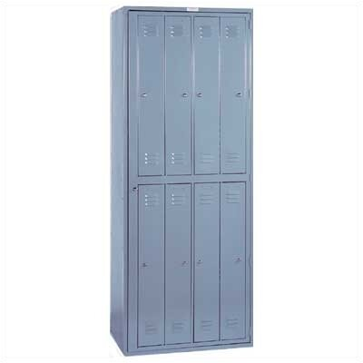 Lyon Workspace Products 8 Person Apparel Locker - 1 Section (Assembled)