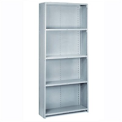 Lyon Workspace Products 8000 Series: Closed Offset Angle Shelving (Medium-Duty): 84&quot; H x 36&quot; W x 24&quot; D