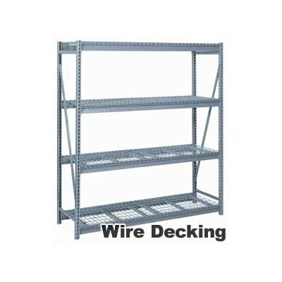 "Lyon Workspace Products 4 Tier Rack Units (96""W x 24"" D x 96""H)"