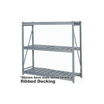 "Lyon Workspace Products 4 Tier Rack Units - (72""W x 30"" D x 96""H)"