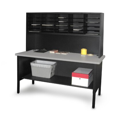 Marvel Office Furniture 25 Adjustable Slot Literature Organizer with Riser