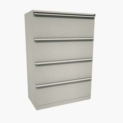 Marvel Office Furniture Zapf Four Drawer Lateral File
