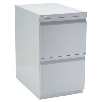 Storlie Stationary 2 Compartment Filing Cabinet