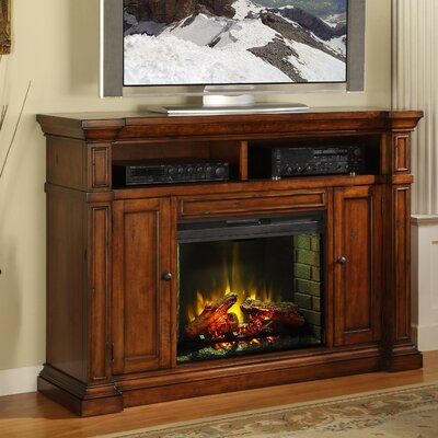 "Legends Furniture Berkshire 58"" TV Stand with Electric Fireplace"