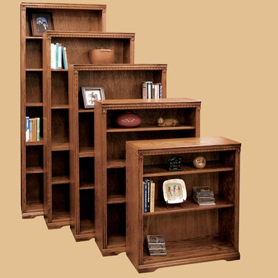 Scottsdale Oak Bookcase with 3 Adjustable Shelves