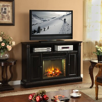 Legends Furniture Hathaway Fireplace Media Center with Electric Fireplace