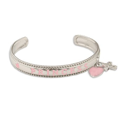 Sterling Silver Child's 'Princess' Bracelet