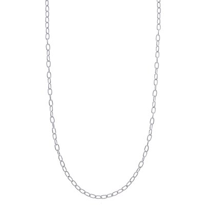 Sterling Essentials Sterling Silver Spiga Chain