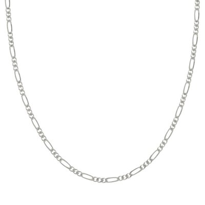 Sterling Essentials Sterling 1.5mm Silver Figaro Chain