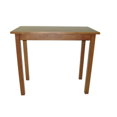 Carolina Cottage Tavern Pub Table in Walnut