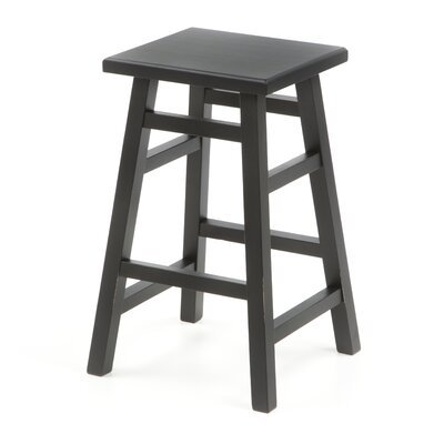 O'Malley Pub Counter Stool in Antique Black