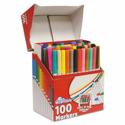 Roseart Supertip Washable Markers (100 Pack)