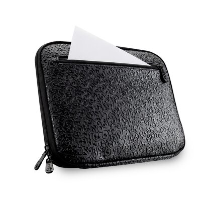 Slappa Ladies Damask Netbook Sleeve in Black