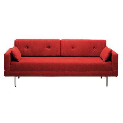 Blu Dot One Night Stand Convertible Sofa with Optional Accent Pillows
