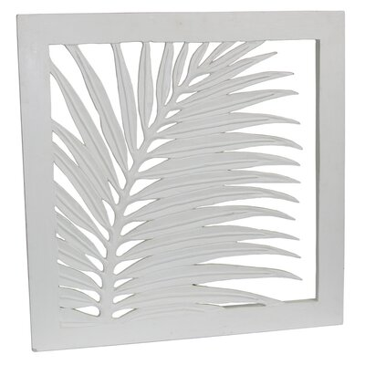 Hand Carved Palm Leaf Wall Art