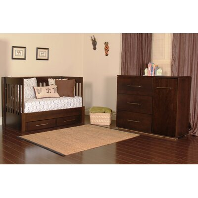 Kidz Decoeur York 3-in-1 Convertible Crib Set