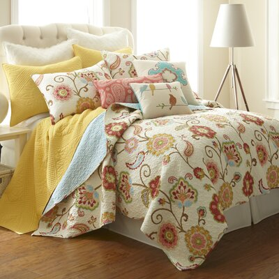 Levtex home Ashbury Spring Quilt Collection